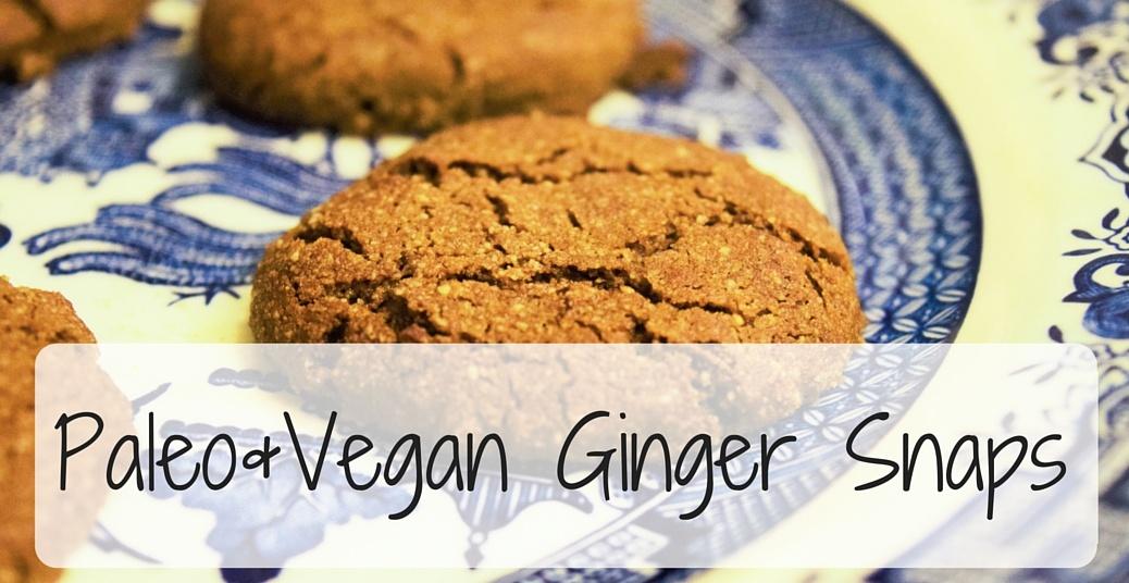 Paleo Ginger Snaps (1)