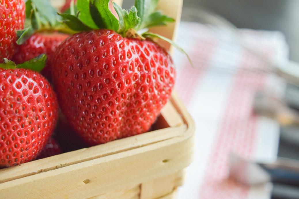 Strawberry Shortcake Biscuits