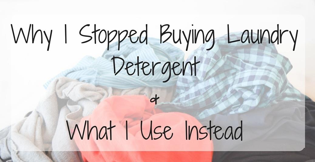 Natural Non-toxic DIY Laundry Detergent Recipe