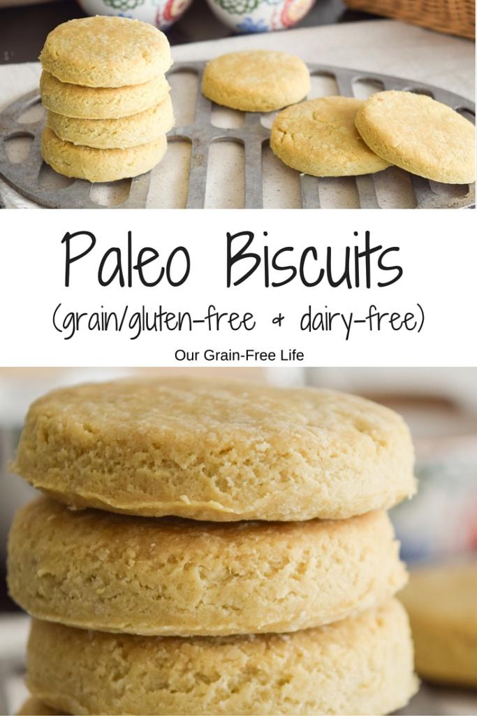 Olive Oil Paleo Biscuits