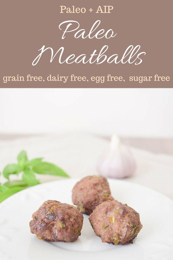 paleo aip meatball