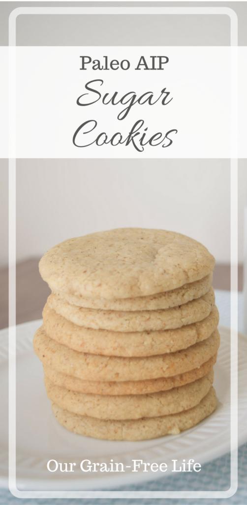 aip sugar cookies
