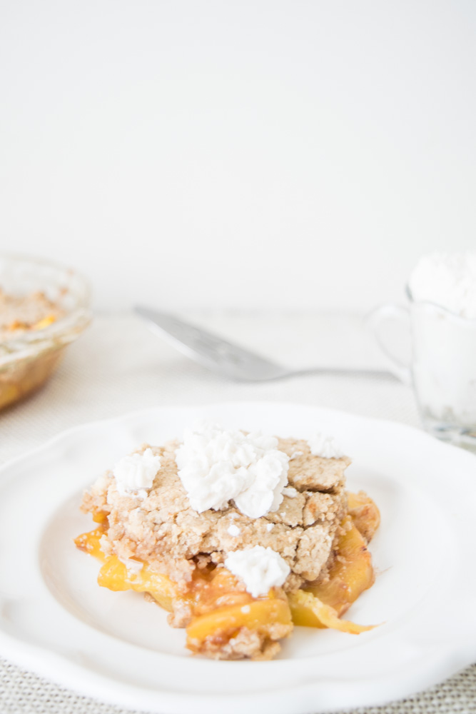 aip peach cobbler