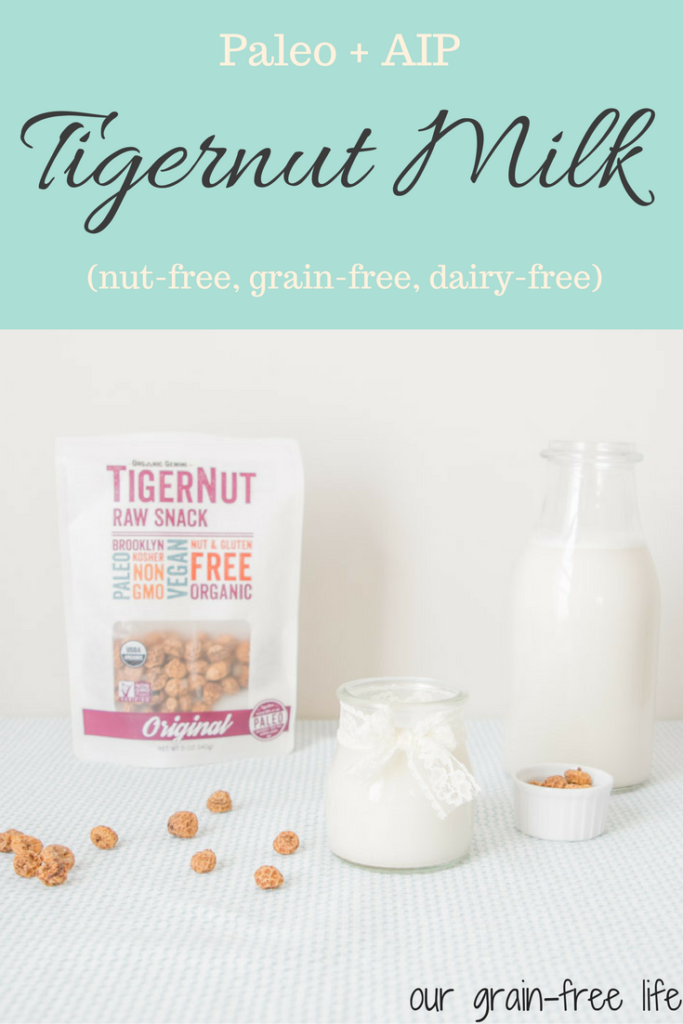 tigernut milk