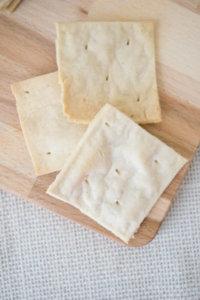 Paleo saltine cracker